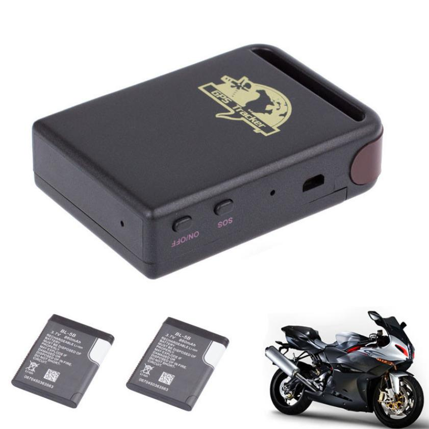 New Arrival TK102 GPS/GSM/GPRS Tracker Car Vehicle Mini Tracking Device + 2 Battery(China (Mainland))