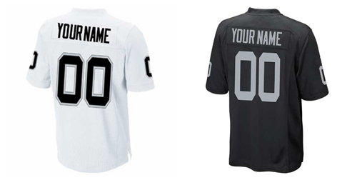 Free Shipping Cheap Customized Elite Jersey Raiders Jerseys #00 any name or number Mens American football jersey Mix Order(China (Mainland))