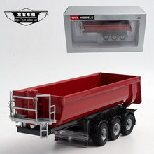 WSI 1:50 Trailer semi-trailer dump mud alloy model(China (Mainland))