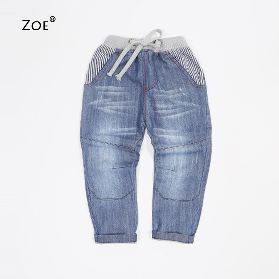 sale! 2015 fashion Spring autumn toddler boy jeans soft for baby boys star print jeans children's clothing child denim trousers(China (Mainland))