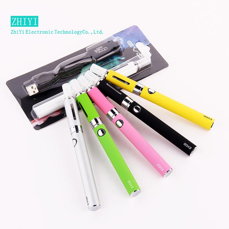 Electronic cigarette Kits vaporizer pen 650mAh 900mAh 1100mAh for 1pcs EVOD MT3 Blister Packing battery charger