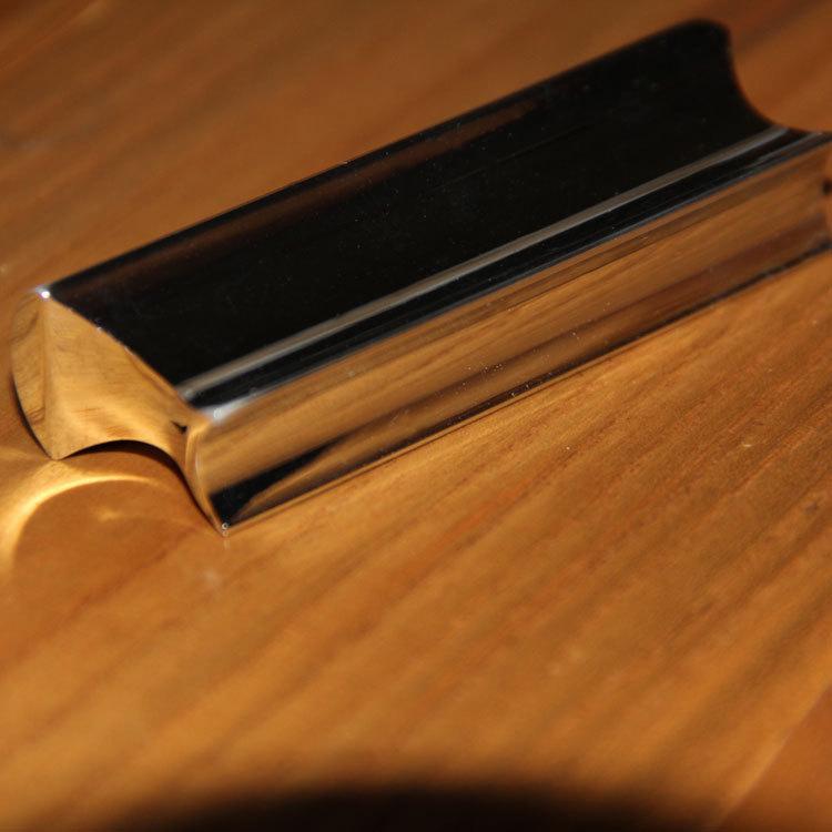 Гаджет  Free Shipping Solid Stainless Steel Tone Bar Guitar Slide for Hawian Guitar None Спорт и развлечения