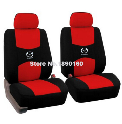 2 front seat Universal car seat cover mazda cx5 CX-7 CX-9 RX-8 Mazda3/5/6/8 March 6 May 2014 323 ATENZA car accessories<br><br>Aliexpress