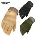 2016ESDY Full Finger blackhawk army military tactic glove Paintball Shooting de combat gloves luvas taticas luva