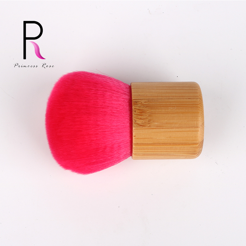 Professional Kabuki Brush Foundation Blush Powder Brush Big Red Bamboo Handle Make Up Makeup Brushes Pincel Pinceaux Brochas(China (Mainland))