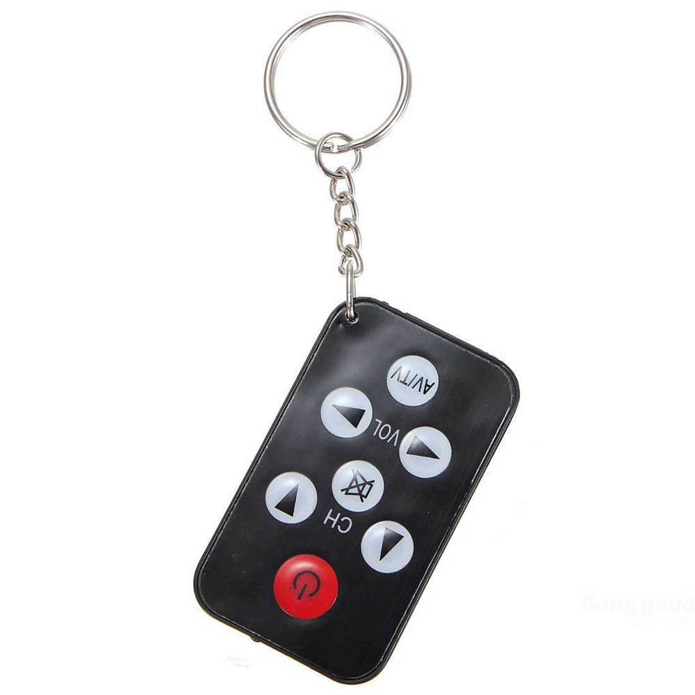 Chivanoor Universal Infrared IR Mini TV Remote Control Keychain Key Ring(China (Mainland))