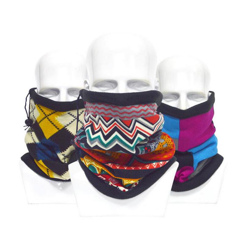 New Winter Outdoor Magic Polar Headwear Motorcycle Neck Warmer Cycling Multifunction Polartec Fleece Bandana Z-2047()