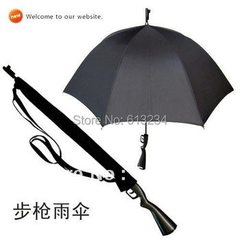 Wholesale 10 pcs/lot Free shipping Rifle Umbrella Gun Umbrella 100cm Big size