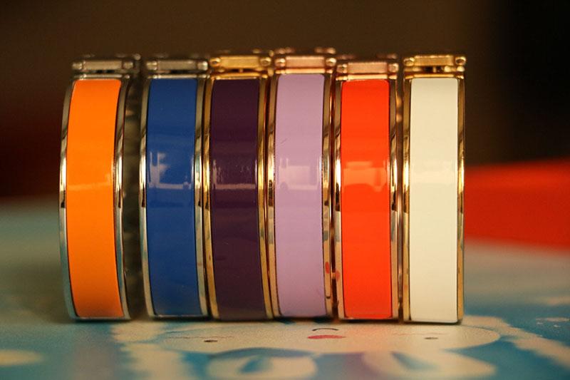 fine jewelry Fashion 316L titanium steel men bracelet wristband with box H bangle gold bracelet sliver bangle for woman couple(China (Mainland))