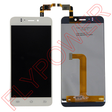 For JIAYU S2 LCD Screen Display with Touch Screen Digitizer Assembly by free shipping; 100% warranty; White color