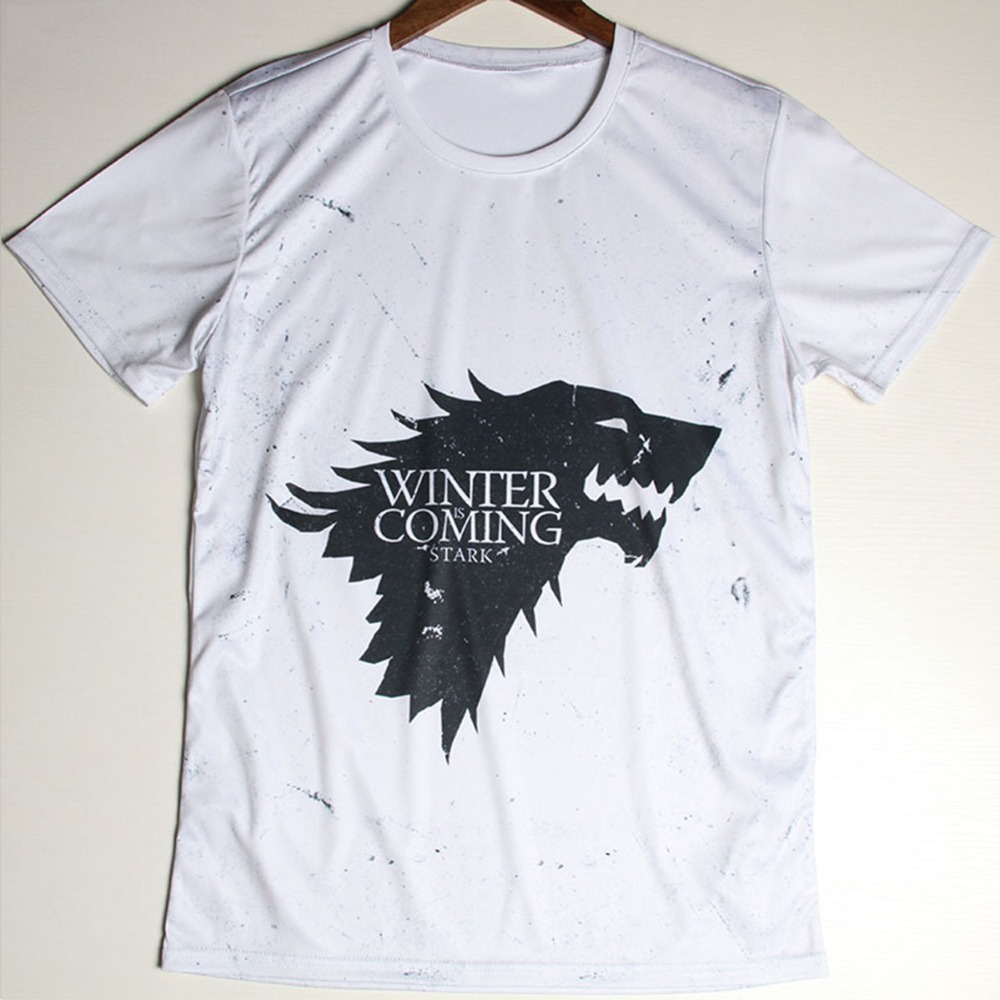 euro size game of thrones t shirts men winter is coming t shirt o neck egypt usa flag man tshirt. Black Bedroom Furniture Sets. Home Design Ideas