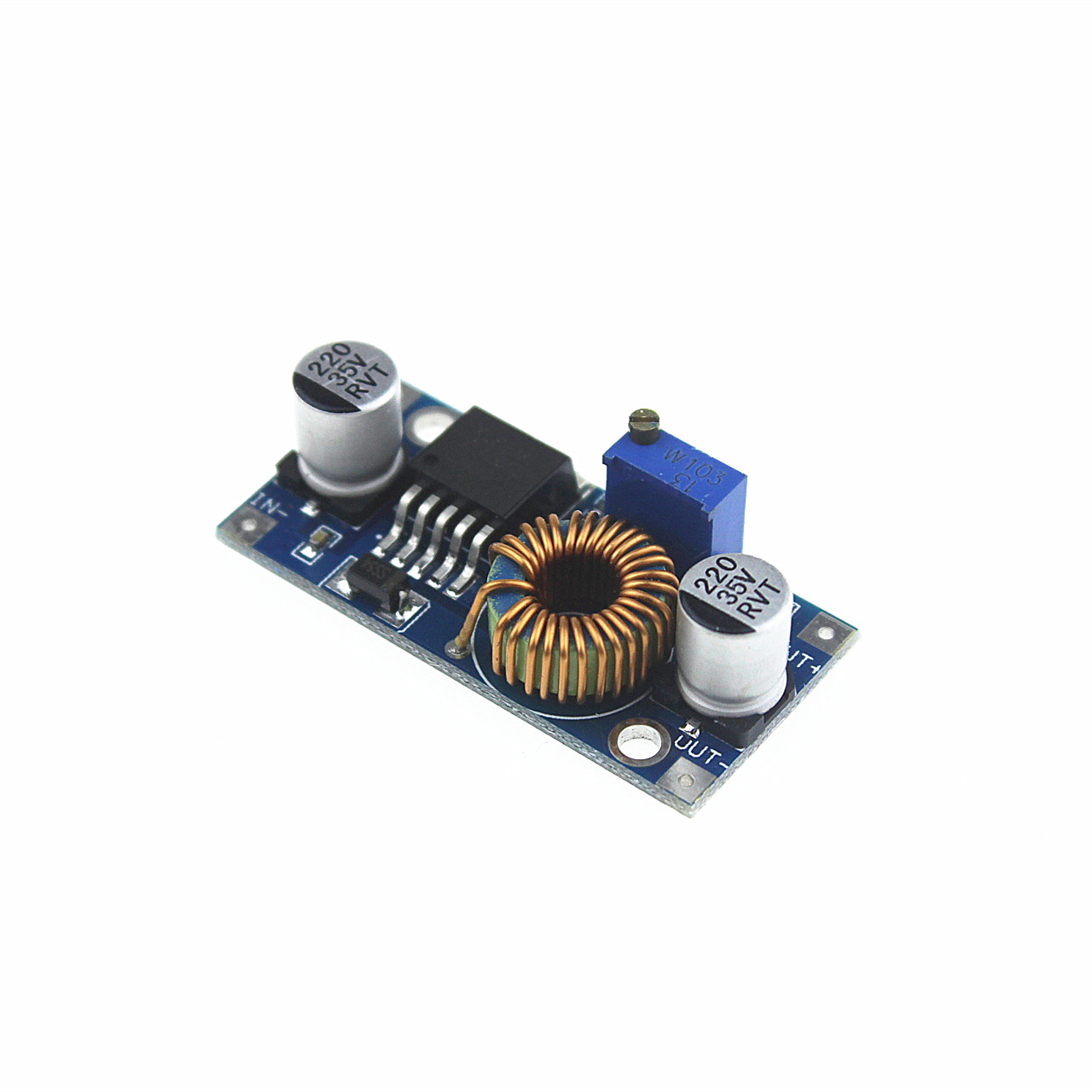 Free shipping 5A Max DC-DC XL4005 Step Down Adjustable Power Supply Module LED Lithium Charger board(China (Mainland))
