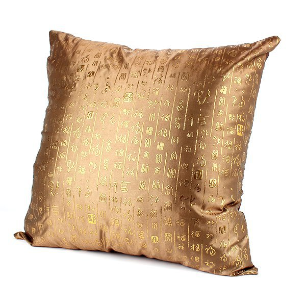 HOT SALESClassic Chinese Wedding Decorative Throw Pillow Cases Sofa Cushion Cover SquareFree Shipping(China (Mainland))