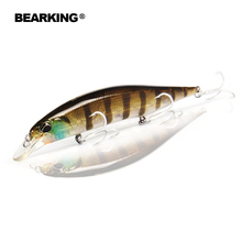 Retail Bearking hot model fishing lures hard bait different colors for choose 120mm 18g minnow,quality professional minnow(China (Mainland))