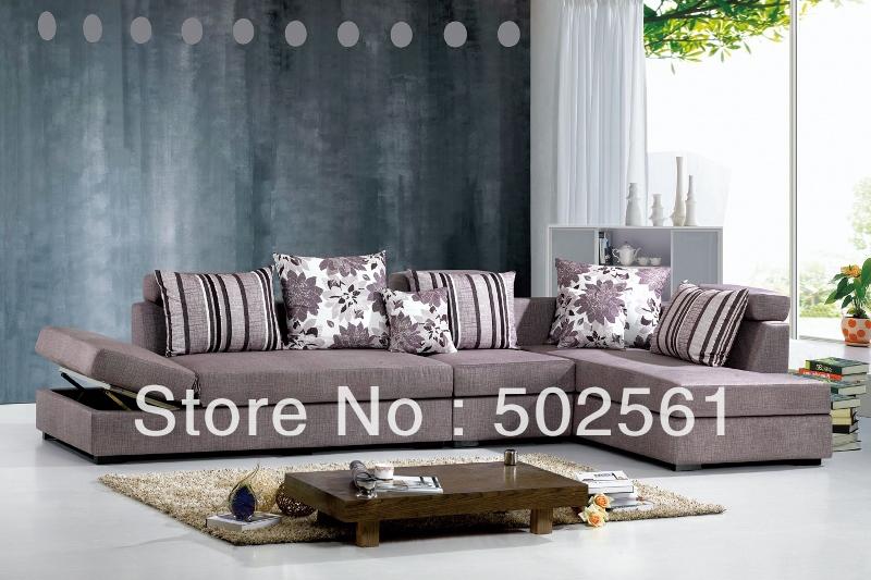 Achetez en gros salon canap d 39 angle en ligne des grossistes salon cana - Salon de coin moderne ...