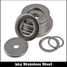 6pcs M22 M22*39*2 M22X39X2 (ID*OD*Thickness) 1# 304 Stainless Steel SS DIN125 Washers Plain Plat Washer(China (Mainland))