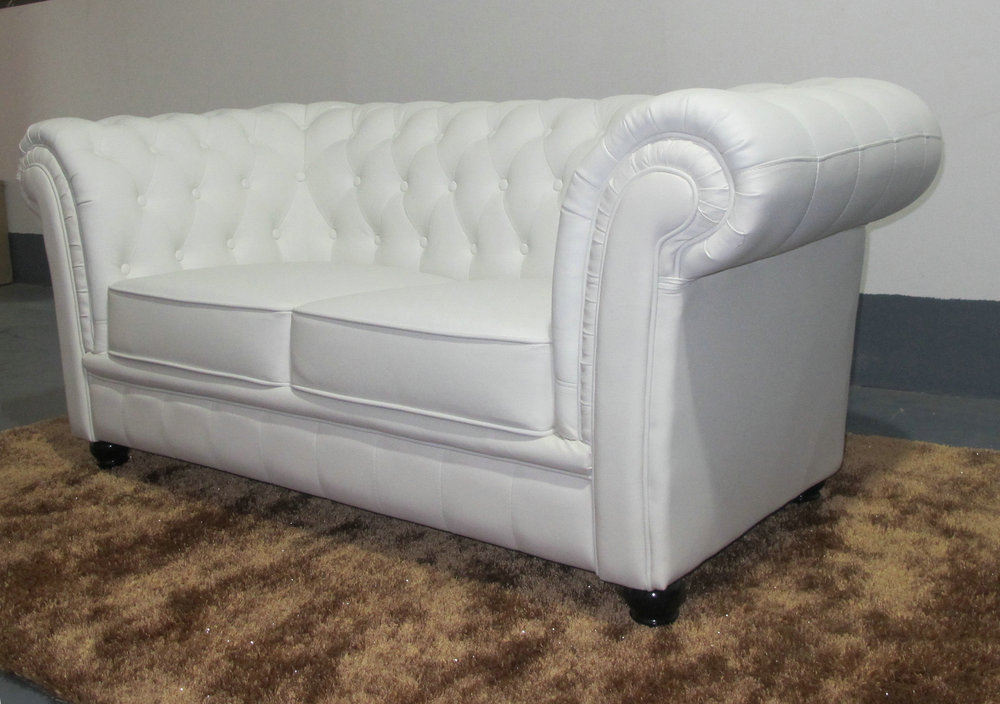 White Chesterfield Sofa images