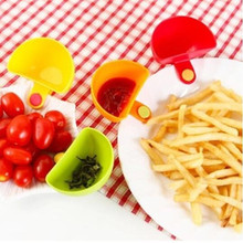 Dip Clips Kitchen Bowl kit Tool Small Dishes Spice Clip For Tomato Sauce Salt Vinegar Sugar Flavor Spices Kitchen Accessories