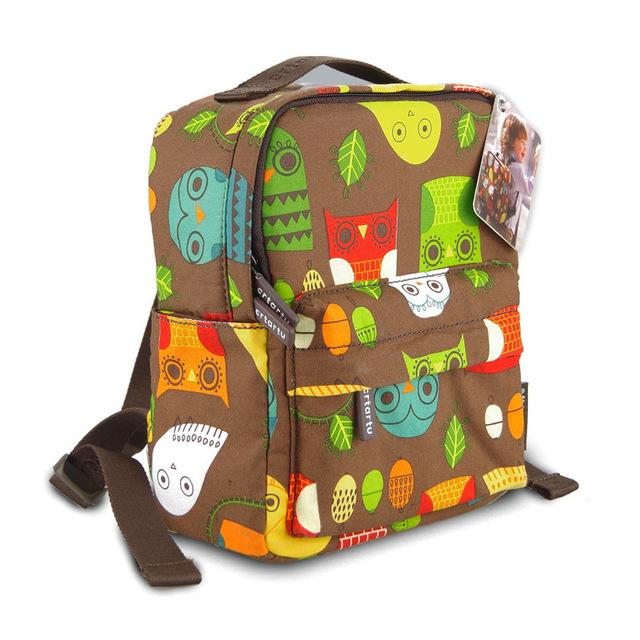 2016 сова рюкзак дети сумка дети рюкзак школьный мешок, вырезать точка сова малышей ...