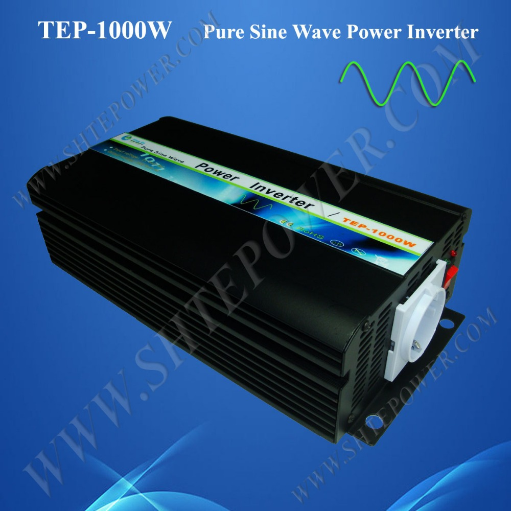 Free shipping power inverter sine wave, pure sine wave inverter 48v to 230v, 1000w power inverter(China (Mainland))