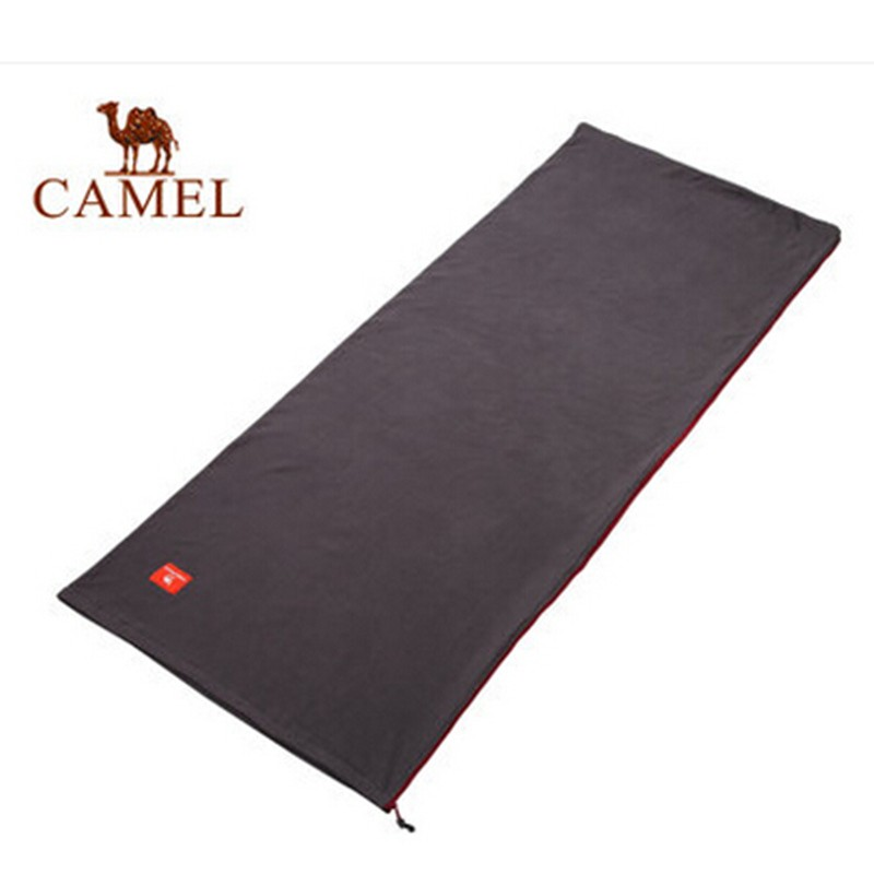 2015 CAMEL Brand Outdoor New Couple Sleeping Bag Spring Autumn Camping Adult Breathable Hiking Soft Fleece