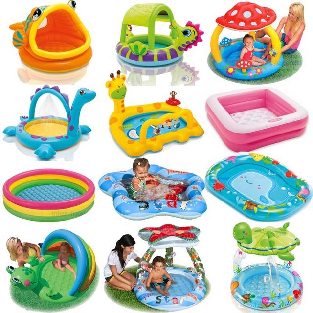 Ванная комната Intex мультфильм семьи центр надувной бассейн ребенок детские дети ...