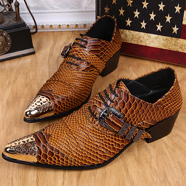EUR SIZE 46 oxford shoes Brown color mens business dress shoes 2015 zapatos mujer genuine leather pointed toe mens wedding shoes(China (Mainland))