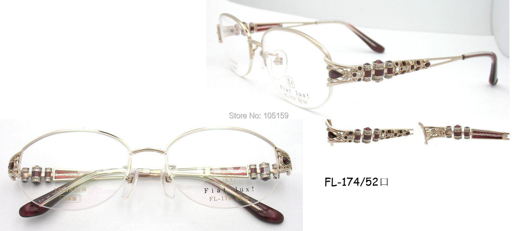 Brand Luxury glasses,Japan Original titanium optical ...