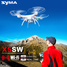 Syma X5SW WiFi Drone with Camera FPV Quadcopter X5SC (X5C Upgrade) HD Dron 2.4G 4CH 6-Axis RC Helicopter ,Dron Quadrocopter Toy(China (Mainland))