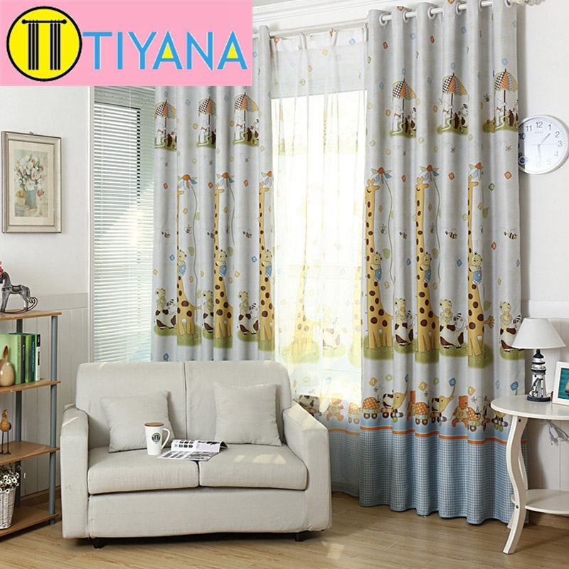 Kids room curtains for living room window curtain for bedroom decoration apartment blackout - Amusing kids room curtains ...