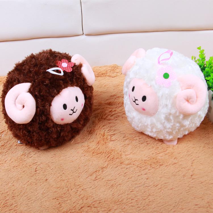2016 Hot Sale 25cm Shaunsheep White Shaun Sheep Goat Lamb Soft Plush Toys Doll Xmas Birthday Gift Fast Delivery Good Delivery(China (Mainland))