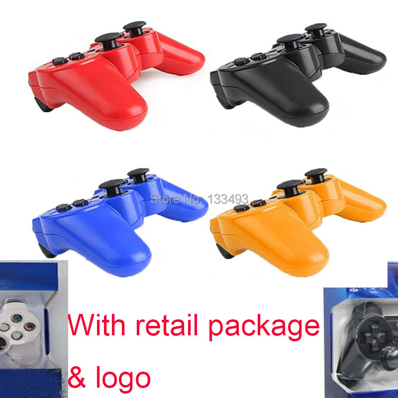 2pcs/lot Original Joystick Sixaxis Double Wireless Controller For Sony Station ps3 Joystick Wireless Console Dualshock 3 SIXAXIS(China (Mainland))