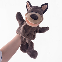 New Arrival Hand Puppets Monkey Plush Velour Animals Hand Puppets for Kid Child Gifts Learning Aid Toy Wholesale(China (Mainland))