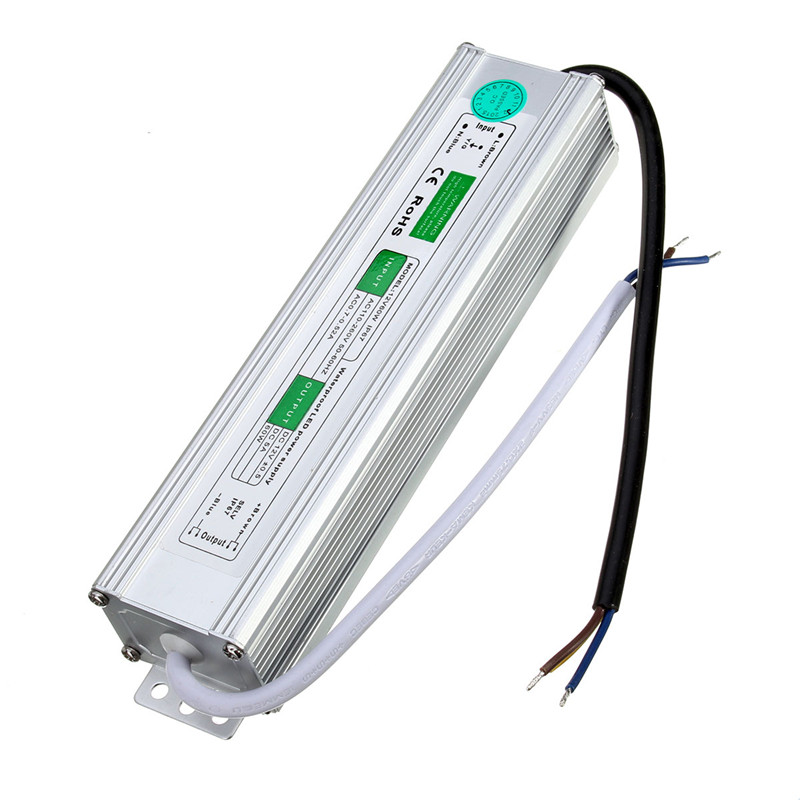 12V 5A LED Waterproof Power Supply Electronic LED Driver 60W Outdoor Use Transformer 220V To 12V Industrial Power Supply<br><br>Aliexpress