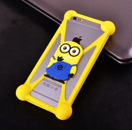2016 NEW 3D Cute Cartoon Soft Silicone Phone Case For Tele2 Mini Case(China (Mainland))