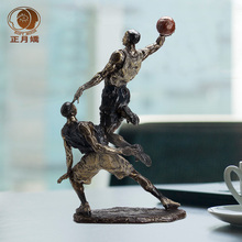 Basketball player Kobe Bryant statue decoration ornaments Children s Room den creative home furnishings retro furnishings