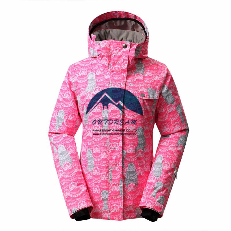 Free shipping,2014 NEW  winter cotton padding ,very warm snowboarding jacket women,30 degrees,high quality ski jacket women<br><br>Aliexpress