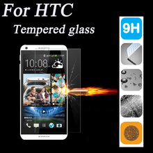 Ultrathin 9H 2.5D Premium Tempered Glass Film Screen Protector For HTC ONE M7 M8 M9 Desire 616 816 820 826 626 510 516 610 E8 E9