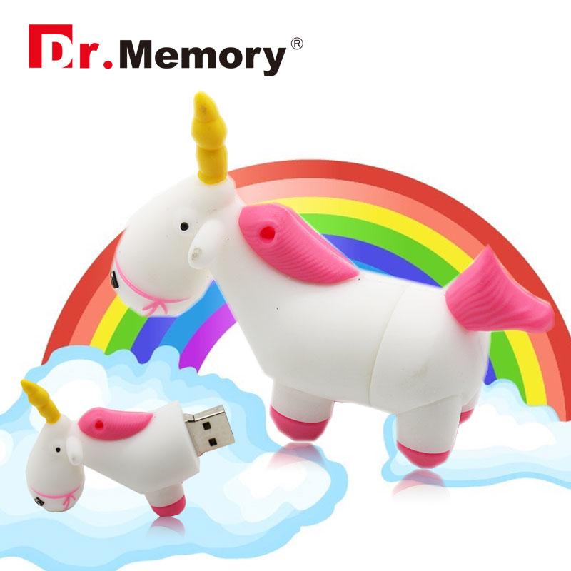 Unicorn pendrive cartoon usb flash drive minion pen drive real capacity horse pen drive 4g 8g 16g 32G flash card free shipping(China (Mainland))