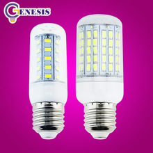 LED corn bulb 5730 SMD 9w 12w 15w 18w 20w LED lights E27 E14 110V 220V 240V lamps Cold Warm White Free Shipping