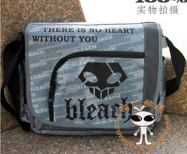 BLEACH Shoulder Messenger Bag Anime Manga Cosplay Costume(China (Mainland))