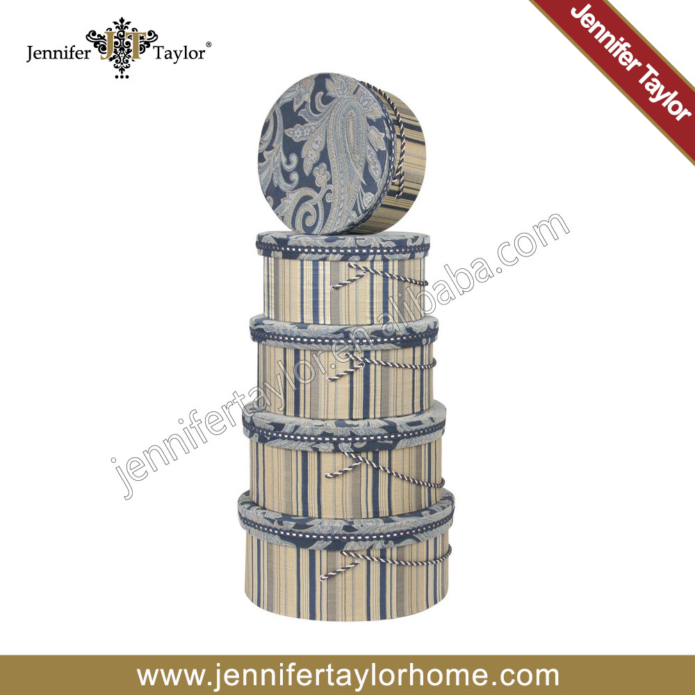 Jennifer Taylor Home Storage Fabric Hat Boxes 3128-596598(China (Mainland))