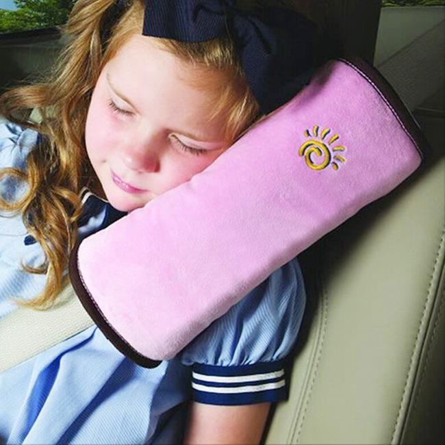 Baby Auto Pillow Car Safety Belt Protect Shoulder Pad adjust Vehicle Seat Belt Cushion for Kids Children high quality(China (Mainland))