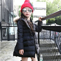 2016 Fashion Girls Winter Jackets Hooded Long Duck Down Jacket Thick Parkas Children Kids Warm Coats