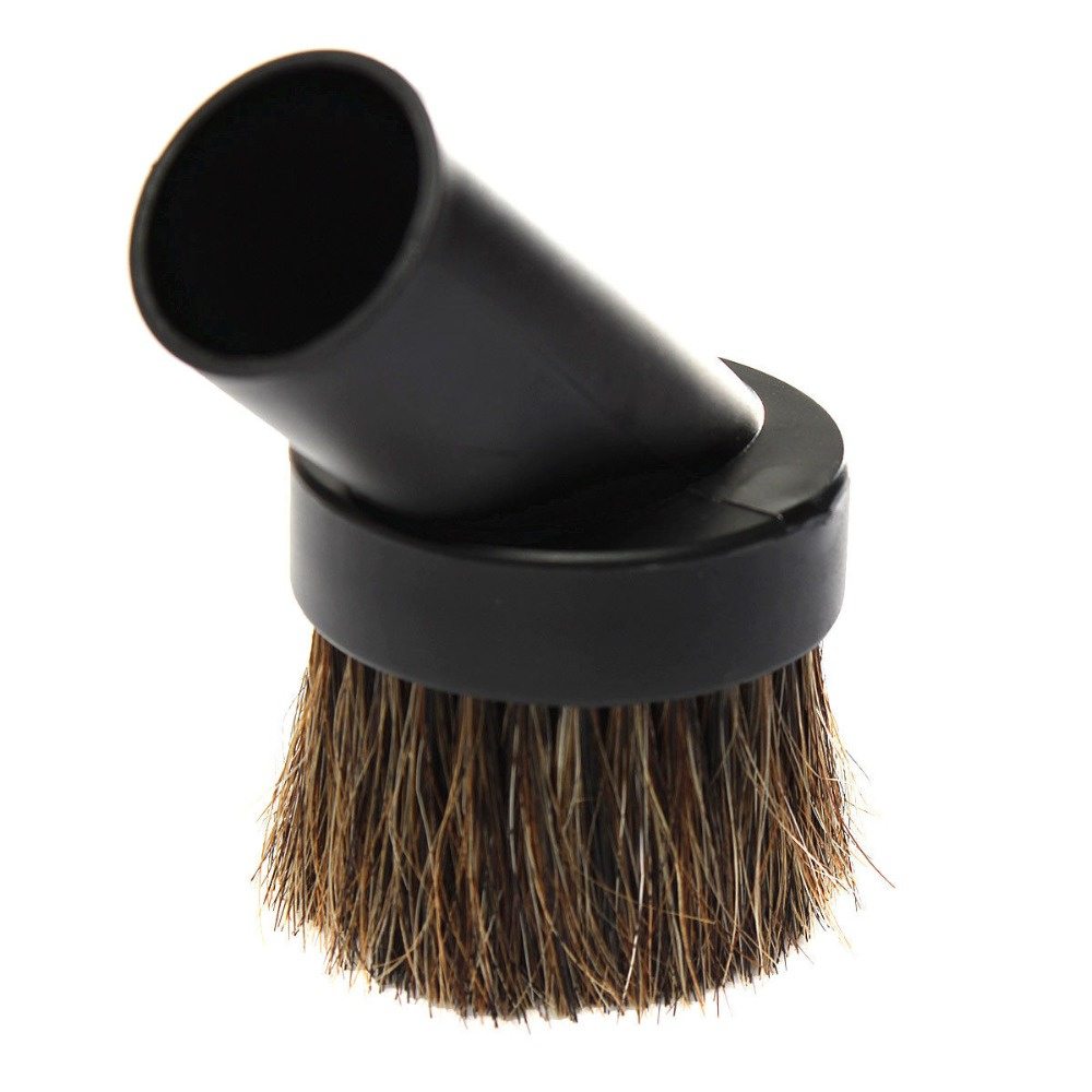 2016 New Arrival 32mm Home Horse Hair Dusting Brush Dust Clean Tool Attachment Vacuum Cleaner Round(China (Mainland))