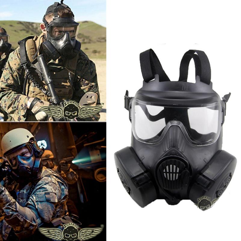 m50 tactique masque gaz double ventilateur anti bu e visage bouclier dc15 cs champ cr ne. Black Bedroom Furniture Sets. Home Design Ideas