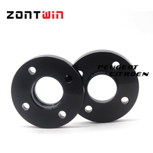 15mm 4-108 65.1  Aluminum Alloy CNC forge wheel spacers suit for CITROEN 2002  PEUGEOT 206 307 308 3008 Free shipping(China (Mainland))