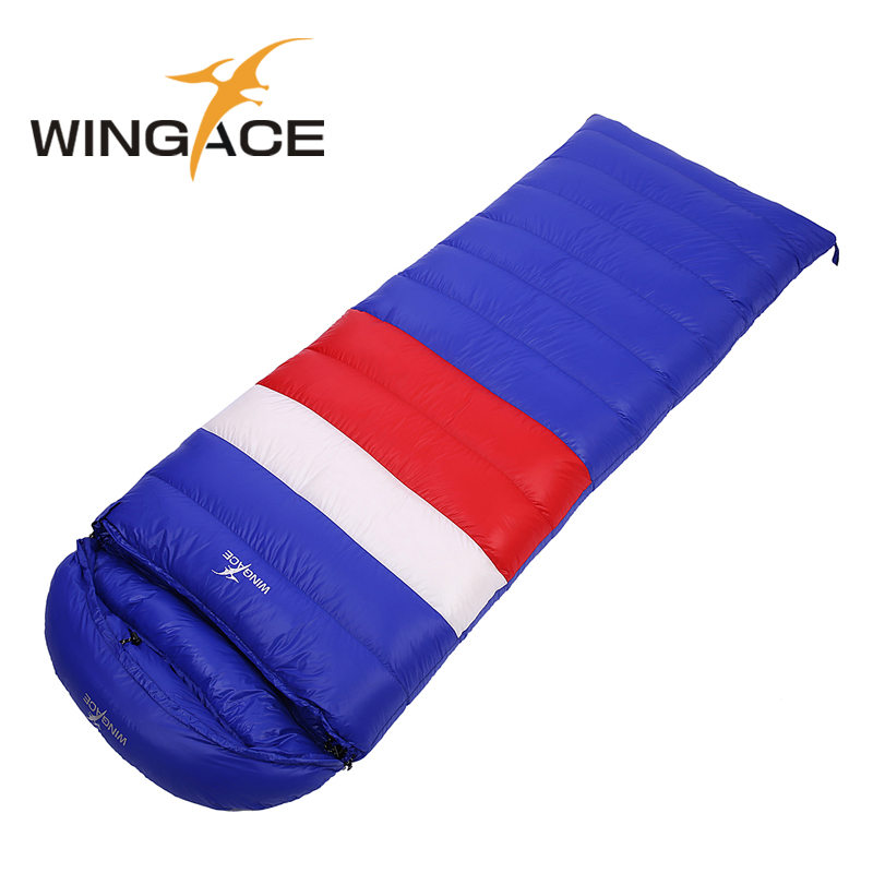 Ultra-light duck down1200g/1500g/1800g/2000g outdoor can be spliced envelope adult breathable thickening duck down sleeping bag