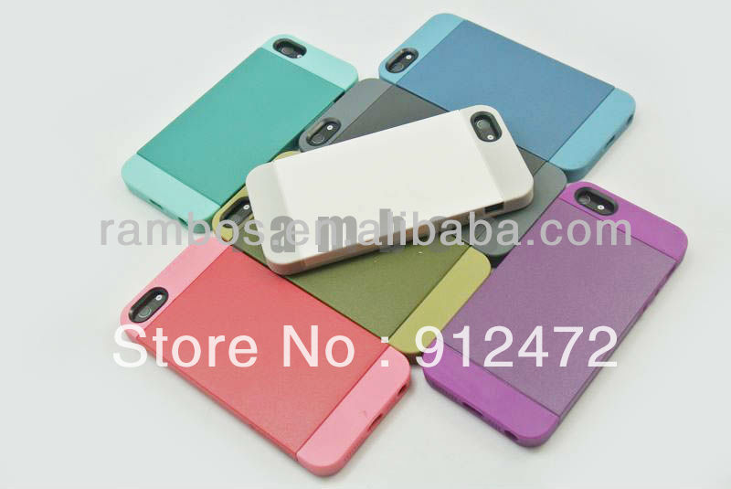 100pcs/lot Easy Switch Soft Silicon Case Plastic Cover Skin with One Screen Protector for iphone 5, free ship(China (Mainland))