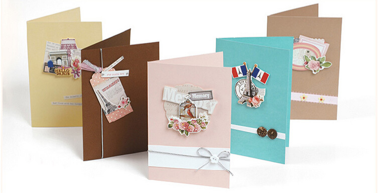 Buy 15 cards envelopes handmade paper for Craft paper card stock